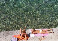 Badestrände in Medulin, Kroatien