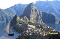 Trancordillera-Kanal bei Machu Picchu