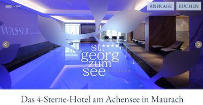 Wellness im Achensee-Hotel in Maurach, Tirol