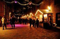 Christmas Market in Torontos Distillery Historic District. Bildnachweis: Tourism Toronto