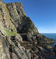 Unterwegs auf Nordirlands spektakulärem Klippenpfad The Gobbins