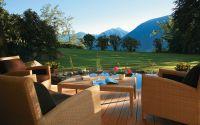 Die Aussicht auf  Natur gibt den Aufenthalt im Hotel Traubenheim einen besonderen Reiz