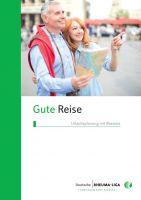 """Faltblatt """"Gute Reise - Urlaubsplanung mit Rheuma"""""""