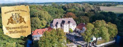 Usedomer Landleben genießen im Wasserschloss Mellenthin auf Usedom