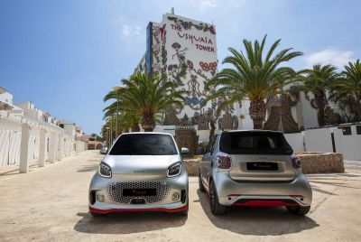 Der neue smart fortwo EQ Ushuaïa Limited Edition 2020