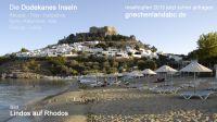 Das malerische Lindos im Süden der Insel Rhodos