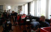 """""""Mein himmlisches Hotel"""" - Dreh in Bobingen für die nächste Staffel. Foto: Hotel Schempp"""