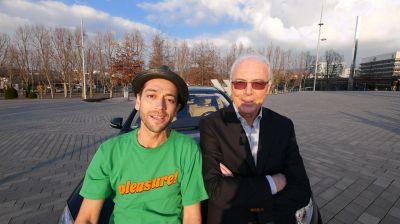 Mister Santos und Franz Beckenbauer