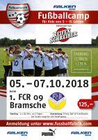 2. grosse Fussballcamp beim 1. FCR 09 Bramsche