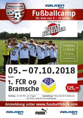 Fussballcampo beim 1. FCR 09 Bramsche