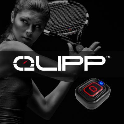 QLIPP Tennis Sensor: jetzt real-time Daten zum Schlagverhalten und Schlägerhaltung