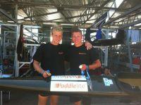 Kai Spenner und Fabian Kux mit Medaillen