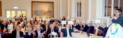 Mitglieder des Kieler Yacht-Clubs sind Feuer und Flamme für die Olympischen Spiele 2024