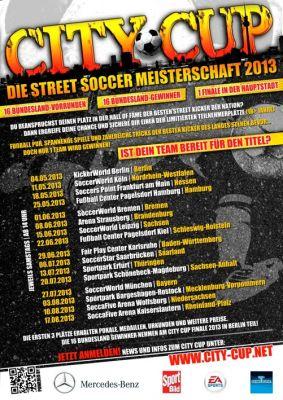 CITY CUP 2013 - Vorrunden Plakat