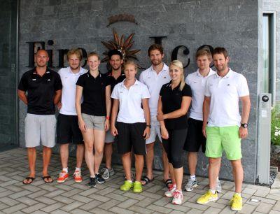 Das Hotel Fire & Ice Düsseldorf/Neuss war Trainingsquartier der DSV Skicross-Nationalmannschaft