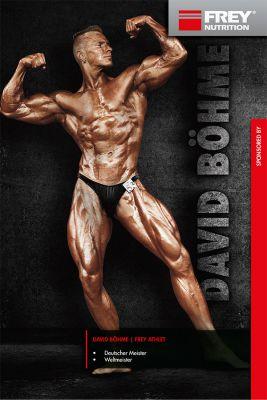 David Böhme wird FREY Athlet