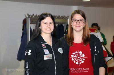 Sophie Pusterhofer mit Sylvia Steiner, ÖSTM 2016 in Kufstein