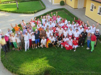 Beste Stimmung herrschte bei beiden Nationen beim fünften Ryder Cup im Hartl Resort, Bad Griesbach