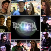 """""""EXTRM. Find your limit…"""" bei der """"NIGHT OF FREESTYLE"""""""
