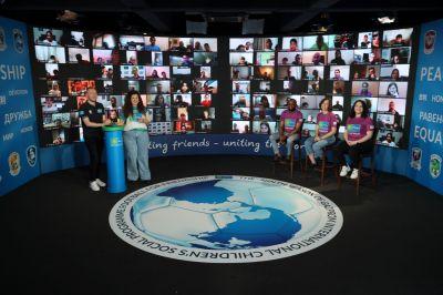 Teilnehmer aus mehr als 200 Ländern beim Internationalen Online-Camp der Freundschaft. Bild: F4F