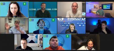 Vertreter des FC Schalke 04 und russische Sportler stellten sich den Fragen deutscher und russischer Medien. (Bild: AGT/F4F)