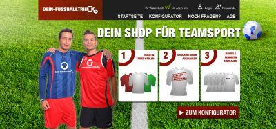 Fußball Trikotsätze für Vereine auf dein-fussballtrikot.de