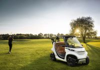 Garia Golf Car inspired by Mercedes-Benz Style. Weltpremiere: Das ultimative Golf Car in limitierter Auflage