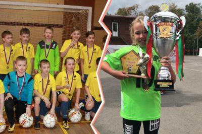 Die 11-jährige Fußballspielerin war Kapitänin & Torschützenkönigin bei einem Qualifikationsturnier. © e1.ru/Yulia Korzeniova