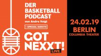 Got Nexxt Live – Der Basketball-Podcast von André Voigt