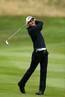 Moritz Lampert kämpft im Golf Resort Bad Griesbach um den Aufstieg in die European Tour