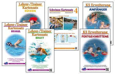 Arbeitskarten für den Schwimmunterricht 1 bis 6