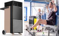 Trotec Zonen-Luftreiniger TAC V+ für Fitnessstudios (Copyright Trotec GmbH)