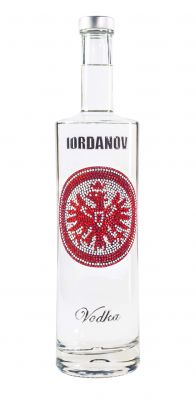Iordanov Vodka Eintracht Frankfurt Edition. Wodka made in Germany.