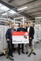 ISOGON Fenstersysteme sponsort neue Sport-Prothesen für Berliner Sprinter Ali Lacin