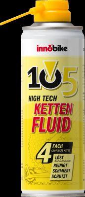 Das 105 High Tech KETTENFLUID von innobike - in der empfehlenswerten Aerosoldose!