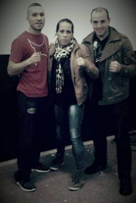 Ilias Essaoudi, Sheila Gaff und Andre Balschmieter Experten für Kickboxen, Boxen, MMA Und Brazilian Jiu Jitsu
