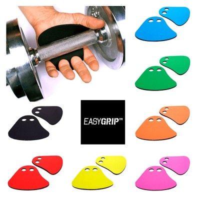 EASYGRIP FITNES GRIP PADS in 7 Farben schützen die Handinnenflächen. (© )
