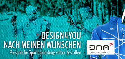 DNA Teamsportswear - Sportbekleidung individuell bedrucken