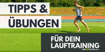 Lauftraining Tipps und Übungen Laufen und Joggen