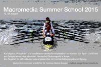 Macromedia Rowing Summer School 2015 (Foto: Macromedia)