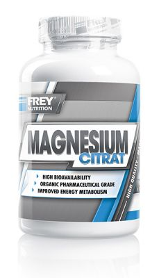 MAGNESIUM CITRAT von FREY Nutrition enthält qualitativ hochwertiges und hochdosiertes Magnesium