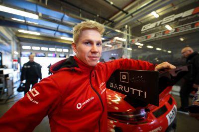 Marek Böckmann , 21 Jahre ,Pilot im Porsche 911 GT3 R bei GetSpeed Performance