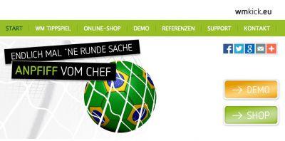 Marketing-Kommunikations-Highlight 2014: WM Tippspiel für Firmen