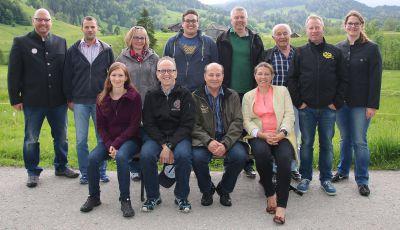Absolventen des 2. Moduls in Berstel/Nesslau (Schweiz)