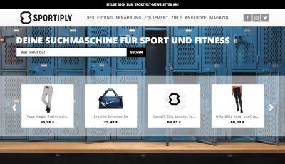 Sportiply - Deine Suchmaschine für Sport- und Fitness-Produkte