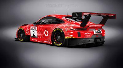 Porsche 911 GT3 R  /  Team GetSpeed Performance