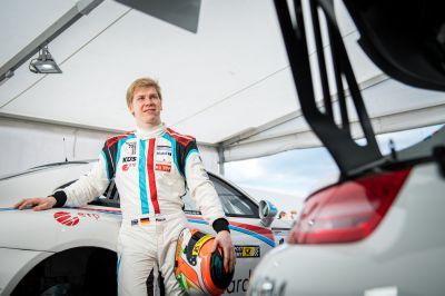 Marek Böckmann (20) nach getaner Arbeit. Platz drei in der Klasse V5