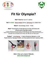 RSG Olympionikin mit neuem Kurs im Move Artistic Dome