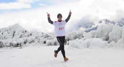 Der höchste Marathon der Welt