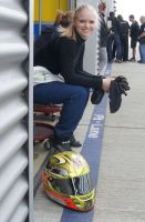 Tina Arbinger - Racinglady mit starker Willenskraft